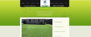 Craig's Lawn Care website